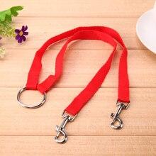 Leash Lead Training-Rope Pet-Dog Adjustable Double-Head Reflective Nylon