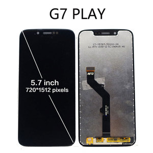 Image 4 - 100% Tested For Motorola Moto G7 XT1962 LCD G7 Play Display Touch Screen Sensor Panel Digiziter Assembly For moto G7 Power LCD