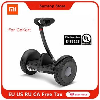 Original Ninebot Xiaomi Mijia Mini auto Salance Scooter de dos ruedas eléctrico inteligente Scooter aerotabla Skate Board para ir kart Kit