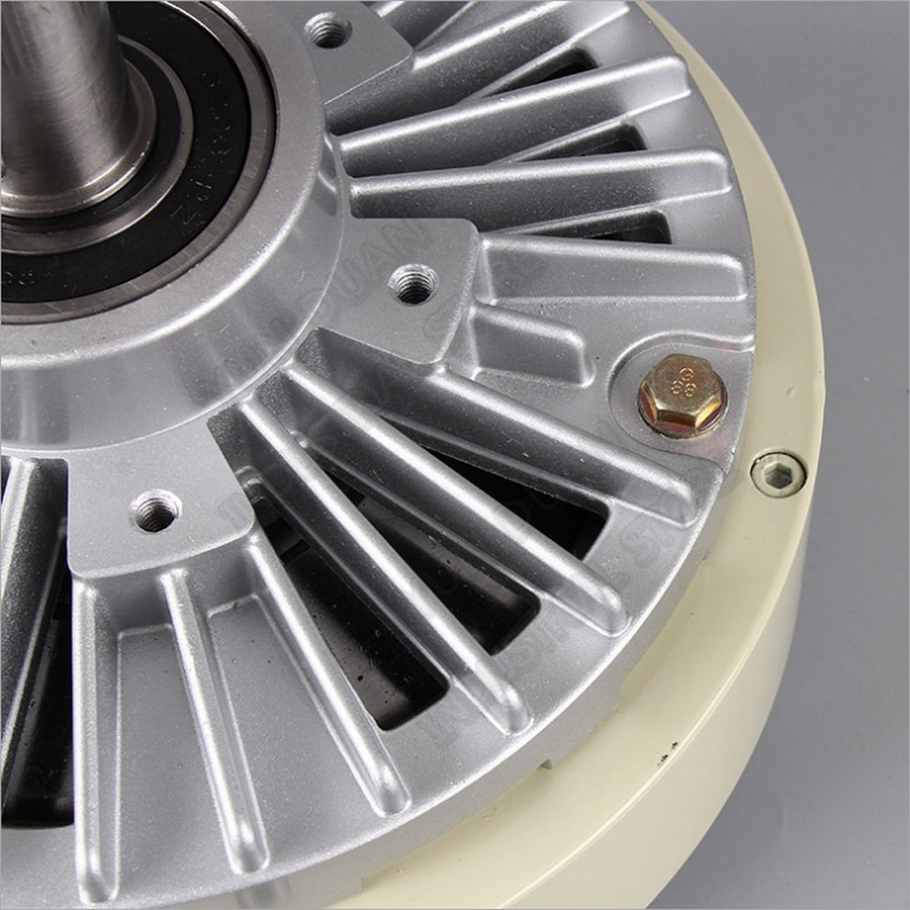 100Nm 10kg DC 24V One Single Shaft  Magnetic Powder Brake 30MM 1000RPM Unwinding for Tension Control Bag Printing Dyeing Machine|Magnetic Powder Brakes| |  - title=