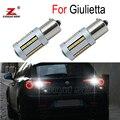 2 шт. 100% Canbus безошибочная Высокая мощность без мигания Белая светодиодная лампа заднего хода свет для Alfa Romeo Giulietta 940 (2010-2019)
