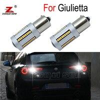 2 stücke 100% Canbus Fehler Kostenlose High power Keine blink weiß LED Umge birne zurück up licht für Alfa Romeo giulietta 940 (2010-2019)