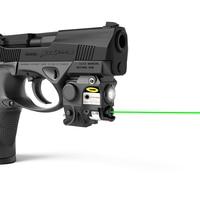 2 In 1 Combo Subcompact Mini Size Gun Led Zaklamp Groene Laser Gericht Zicht Voor Glock