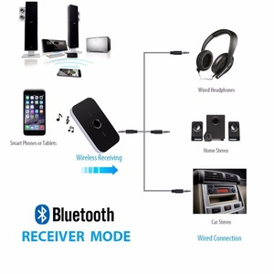 Image 4 - Bluetooth 5.0 Audio Transmitter Receiver 2 In 1 3.5mm AUX Jack RCA Stereo Music Wireless Adapter For Car Headphone Speaker TV PC