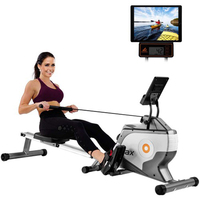 Brand New Indoor Foldable Rowing Machine With LCD monitor 8-Stage Resistance Home Gym Rowe Workout Fitness Equipment