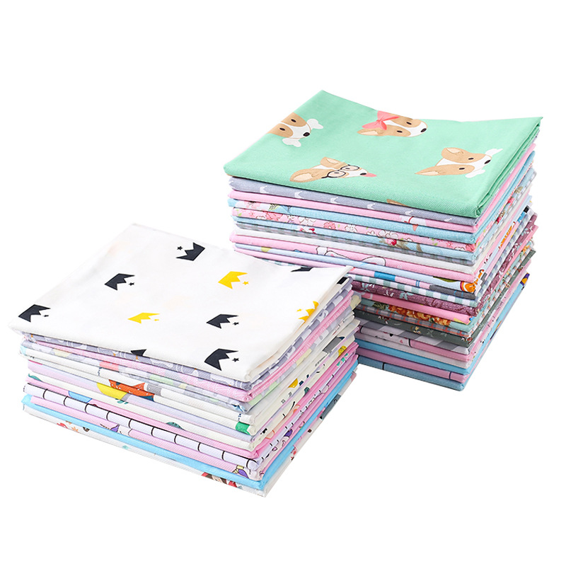 160cmX100cm Cotton Fabric Cloth Baby Bedding Fabric Children's Cartoon Bed Linen Cotton Twill Baby Cotton Bedding Fabric