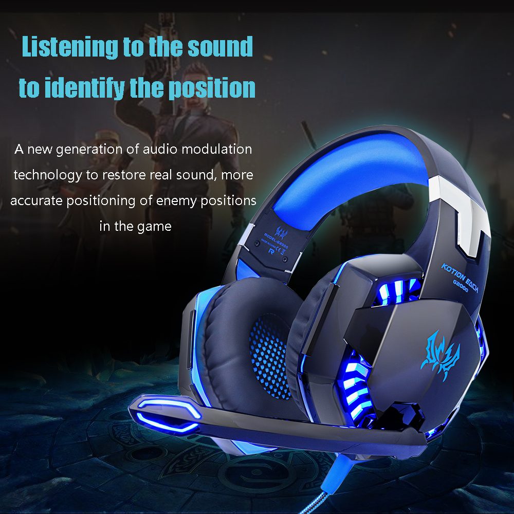 Gaming Headset Met Mic