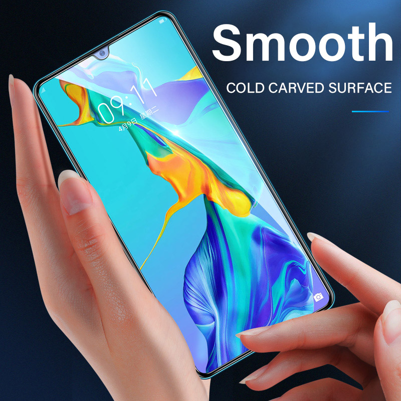 3 Pcs Full Cover Tempered membrane Glass For Huawei Honor 8X 8S 8C 8A 20i 10i 20 Pro 8 9 10 Lite  Screen Protector Glass Film 2