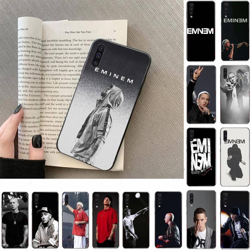 FHNBLJ Rapper Eminem Telefon Fall Für Samsung Galaxy a50 A30S A50S a71 70 a10 fall samsung a51 fall