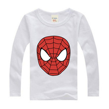 Children Spiderman  for kids Sport cartoon Costume Children Spider Man Long sleeve T-shirts Tracksuit Clothes spider man homecoming cosplay costume 3d printed spiderman homecoming spandex suit newest spiderman halloween bodysuit