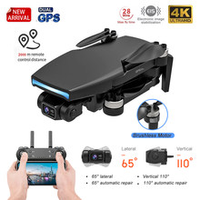New 2021 L108 Pro Gps Drone HD 4K Camera 2-Axis Gimbal Professional 2000M Image Transport Brushless Motor RC Foldable Quadcopter