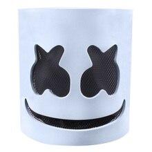 Маска диджея с светодиодный светильник EVA материал Светящийся Шлем электроакустический Хэллоуин Праздник Косплей вечерние вспышка Funk