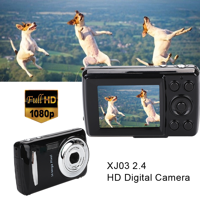 Black Ultra Photo Camera 16MP Ultra-clear HD Digital Camera DVR 1080P Mini HD Camera Precise Video Recorder Camera DVR
