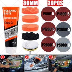 Image 1 - Kits de reparación de faros delanteros de coche, restauración, pulido, pasta limpiadora, restauración, cuidado de la pintura, pulidor de lentes