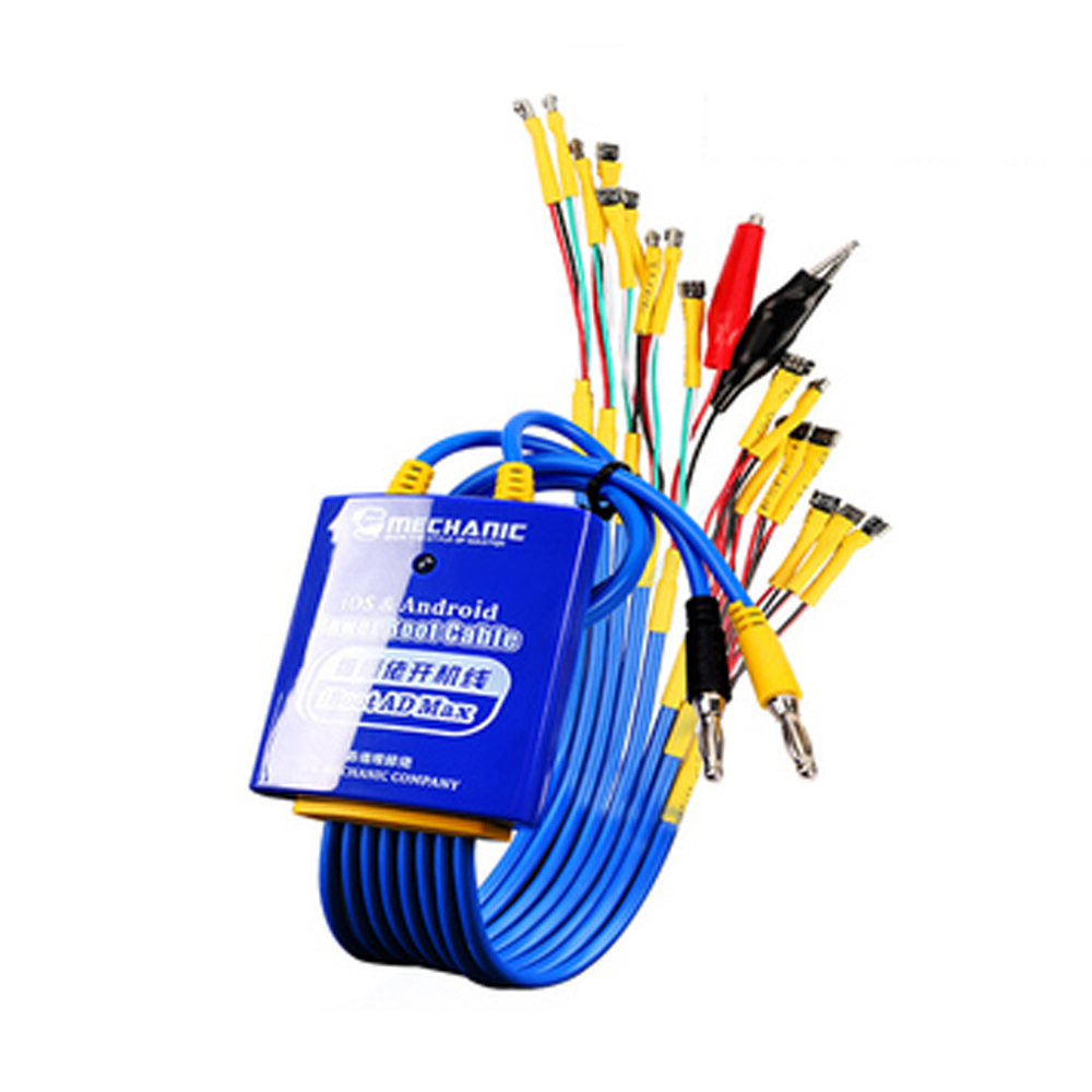 MECHANIC Power Boot Control Line For Android And IOS Phone Test Power Supply Cable For Iphone Huawei Xiaomi Samsung