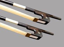 10pcs/lot 4/4 German Black Carbon Fiber Double Bass Bow Top Quality