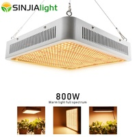 2019 Newest 800W LED Grow Light Full Spectrum Warm Lights 800LEDs Phytolamp Growing Lamp for Plants Vegs Grow Tent Greenhouse