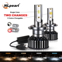 NLpearl Car Headlight H7 H4 LED H8/H9/H11 HB3/9005 HB4/9006 H1 H3 9012 H13 9004 9007 50W 12000lm Bulb Headlamp Changeable Light canbus led h7 h4 h11 h1 h3 9005 hb3 9006 hb4 9012 hir2 880 h8 h9 9007 9004 h13 h4 led headlight car bulb light 12v 24v 6500k 2x