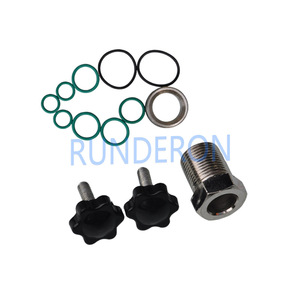 Image 2 - Diesel Service Workshop Common Rail Fuel Injectors Oil Collecting Clamping Fixture Repair Tool Kits Seal Joint for Bosch Denso