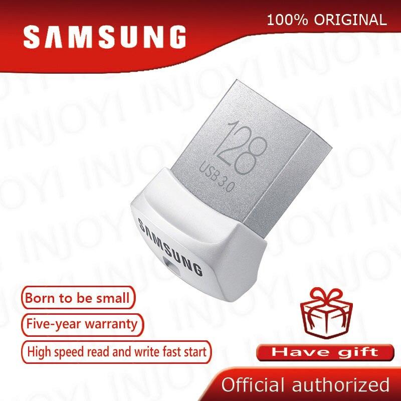 SAMSUNG USB Flash Drive Disk USB 3.0 130MB/S  32GB 64GB 128GB Mini Pen Drive Tiny Pendrive Memory Stick Storage Device U Disk