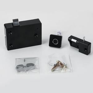 Image 4 - الأثاث قفل ببصمة الأصبع المنزل ABS درج الذكية مكافحة سرقة مكتب بدون مفتاح خزانة إلكترونية صغيرة الأمن الذكي