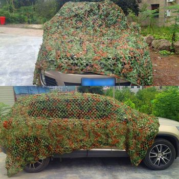 Hunting Camouflage Net Outdoor Blind Tree Stand Waterproof Rot-Resistance Mould-Resistance Suitable War Game Sports Camping 2