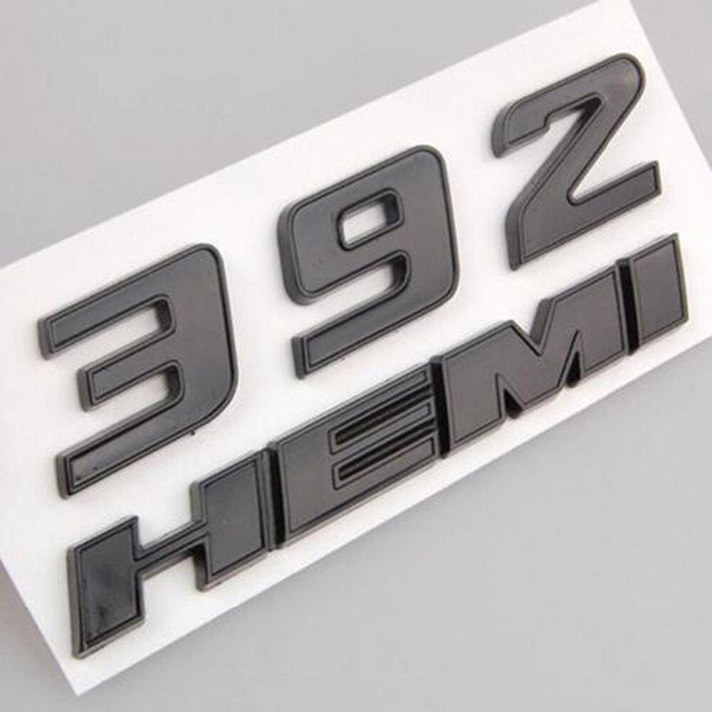 3pcs Metal HEMI Car Grille Emblem Badge Sticker