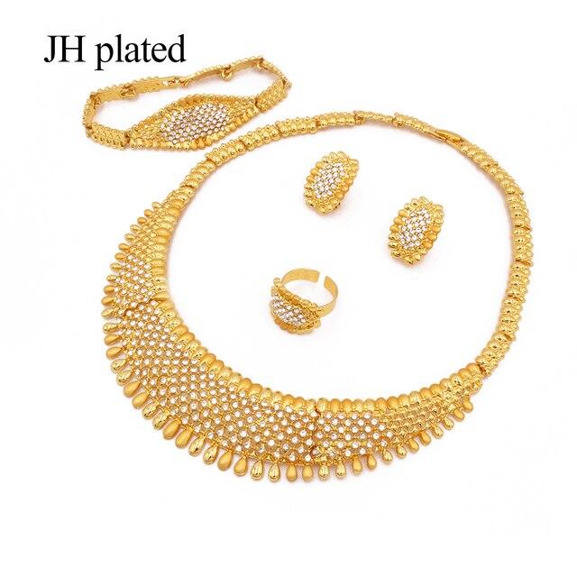 Фото комплект ювелирных изделий золотого цвета в африканском стиле; цена