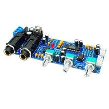цена на Pt2399 Ne5532 Karaoke Board Microphone Amplifier Board Preamplifier Reverberation Echo Sound