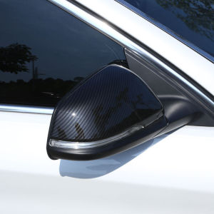 1apir=2pcs Carbon Fiber Style Car Rearview Mirror Cover For BMW 2 Series F45 F46 15+ X1 F48
