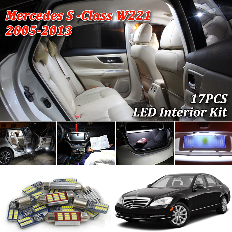 15 Bulbs Super White LED Interior Light Kit For R53 2001-2006 MINI One Cooper S