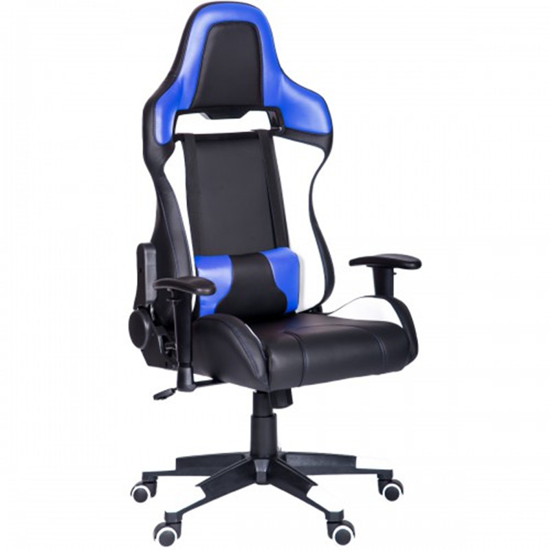 Fashion Computer Gaming Chair Ergonomic High Back Racing Style Office Chair PU Leather With Adjustable Lumbar Support Game Seat