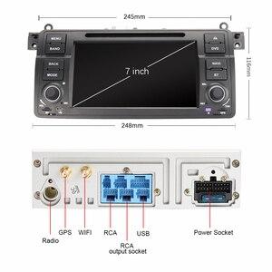 Image 3 - Eunavi 1 דין אנדרואיד 10.0 רכב נגן DVD עבור BMW E46 M3 רובר 3 סדרת 7 אינץ רדיו סטריאו gps ניווט ראש יחידת wifi dsp usb