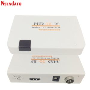 Image 3 - Telewizja analogowa nadajnik HD na RF HD na sygnał częstotliwości radiowej HD Modulator Box konwerter z pilotem zoom dla HDTV PC