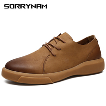 Genuine Leather Shoes Men Leather Sneakers Flats Design Style Men Shoes Loafers Lace Up Walking Casual Shoes Men Big Size 37-47 2018 men casual shoes brand men leather shoes sneakers men flats lace up genuine split leather shoes plus big size spring autumn