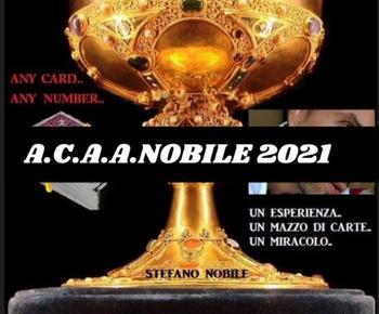 A C A A NOBILE 2021 autorstwa Stefano Nobile magiczne sztuczki tanie i dobre opinie Metal CN (pochodzenie) Unisex ŁATWE DO WYKONANIA Profesjonalne Różne rekwizyty 8-11 lat 12-15 lat STARSZE DZIECI Do magii z bliska