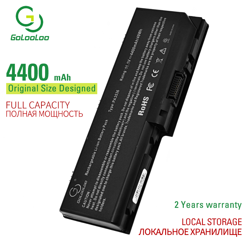 Golooloo 6 cells laptop <font><b>battery</b></font> for <font><b>Toshiba</b></font> Equium L350D-11D P200 P200-178 P200-1ED P300-16T <font><b>Satellite</b></font> <font><b>L350</b></font> L350D L355 L355D image