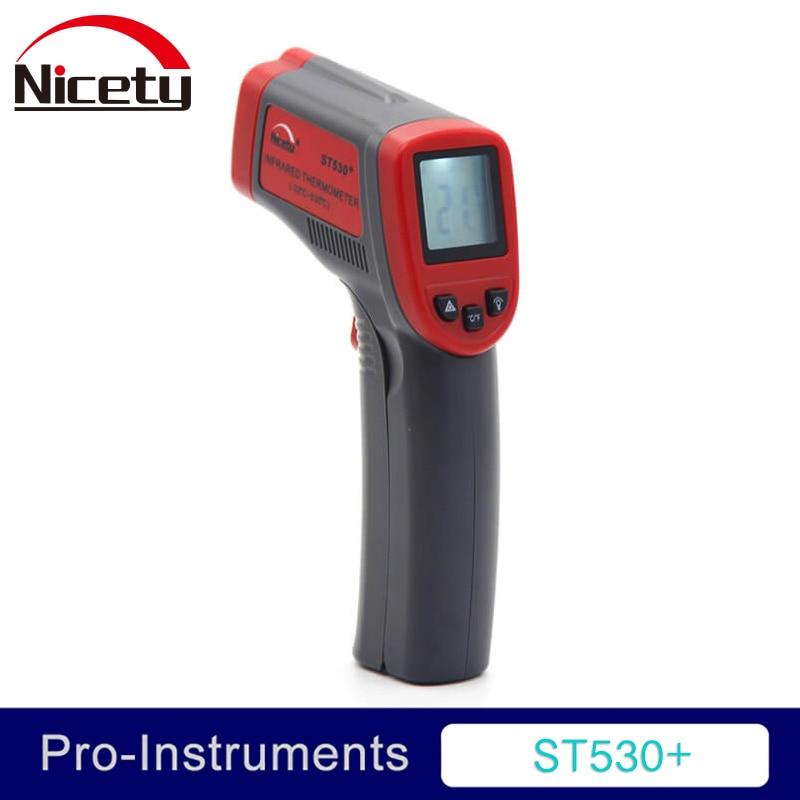 Nicety ST530 + digitaalse infrapunatermomeetri keetmine -32C ~ + 550C - Mõõtevahendid - Foto 1
