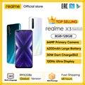 Realme X3 мобильный телефон 64MP 60X суперзум 120 Гц Дисплей Snapdragon 855 + 8GB 128GB смартфон realme 6 Pro Телефон realme v5