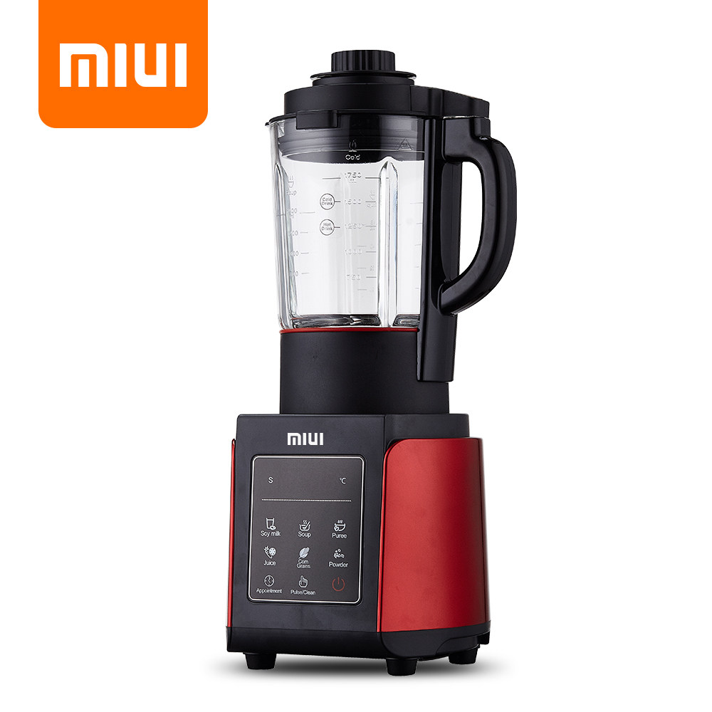MIUI Professional Blender Mixer Food Processor Japan Blade Juicer Ice Smoothie Machine Smart-presets Cooking Machine 1.75L