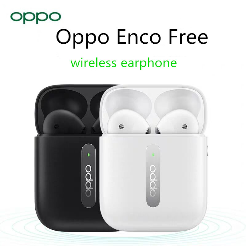 Oppo Enco Free Original    Wireless Earphone, 5.0 Bluetooth  TWS Earphone