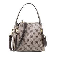 купить Designer Luxury Designers Women Messenger Bags Females Bucket Bag Leather Cross body Shoulder Bag Handbag Satchel feminina bag по цене 2083.55 рублей