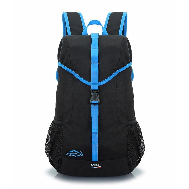 20л водонепроницаемый портативный рюкзак для скалолазания, походный нейлоновый рюкзак для отдыха на природе, мужской женский спортивный