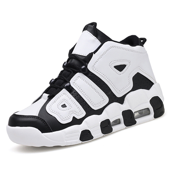 иорданская обувь для мальчиков | Новая брендовая Баскетбольная обувь мужская спортивная обувь с высоким берцем с воздушной подушкой Jordan Hombre Спортивная мужская обувь комфо...