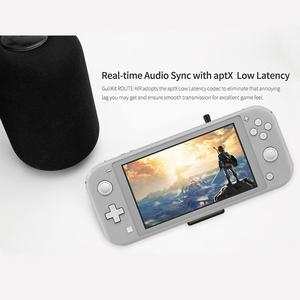 Image 5 - Беспроводной аудио адаптер GuliKit NS07 Pro Route Air, Bluetooth передатчик с поддержкой голосового чат, USB C адаптер для Nintendo Switch PS4