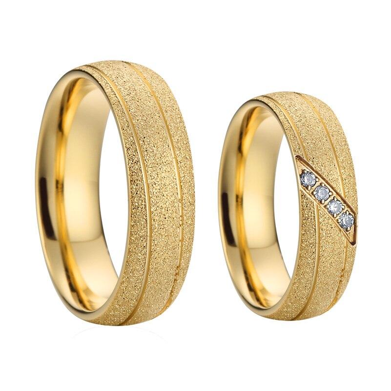 2019 dernières conceptions de bague de mariage masculin pour les couples 8mm Alliance amour anneau anneaux pour hommes or jaune rempli homme bijoux