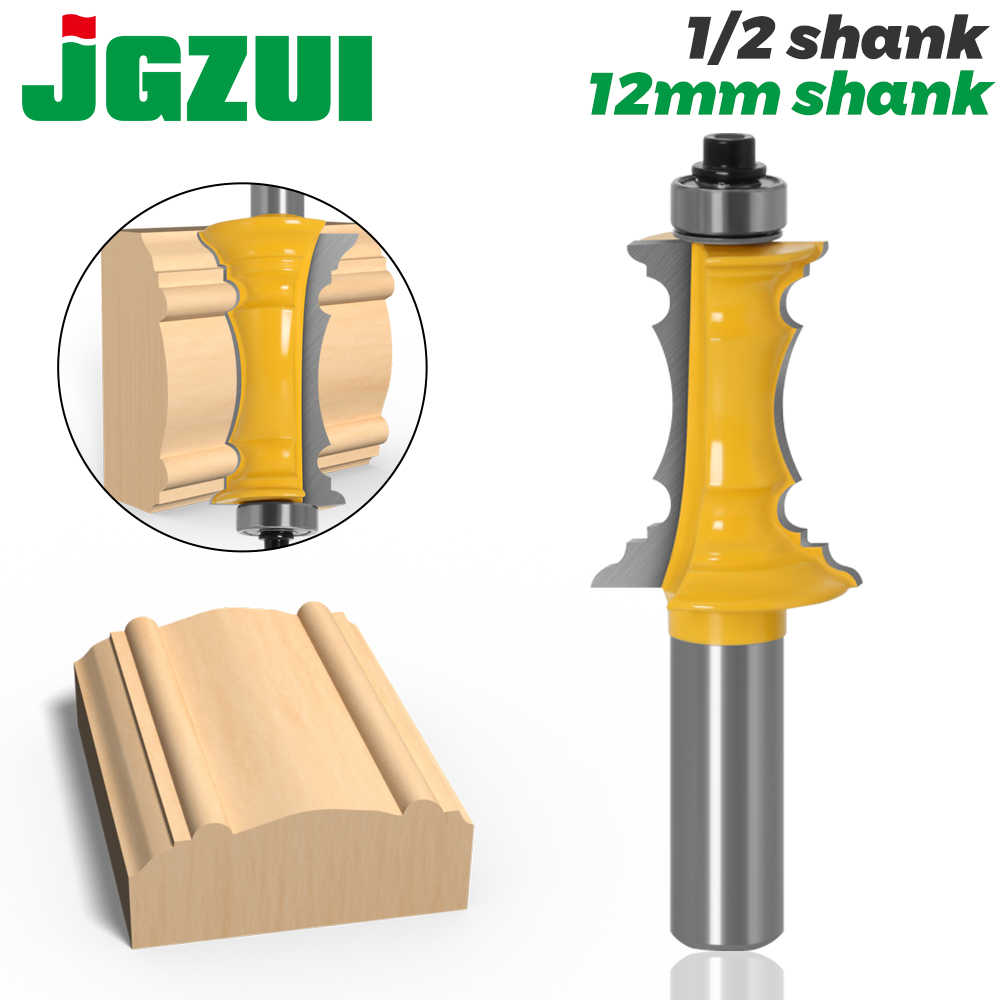 """Mitered Drawer Front Molding Router Bit 1-1//2/'/' Cutter 1//2/"""" Shank"""