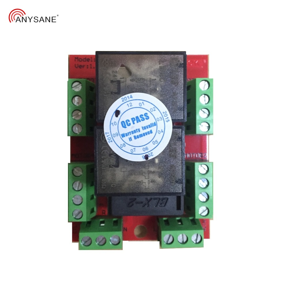 ANYSANE Универсальная Группа Радио пульт дистанционного управления 433,92 МГц Rf 4ch радио приемник реле для автоматизированного занавеса затвора умный дом - 5
