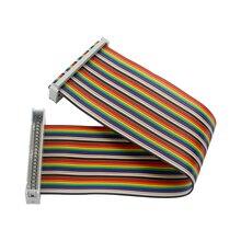 40 pin GPIO Cable Male to Female GPIO Extension Line for Raspberry Pi 4B/3B+ for Orange Pi Jetson Nano