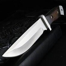 شوان فنغ سكينة للاستعمال الخارجي التخييم صلابة عالية سكينة سرفايفل اليدوية الصيد مستقيم سكين التكتيكية الباردة سلاح سكين